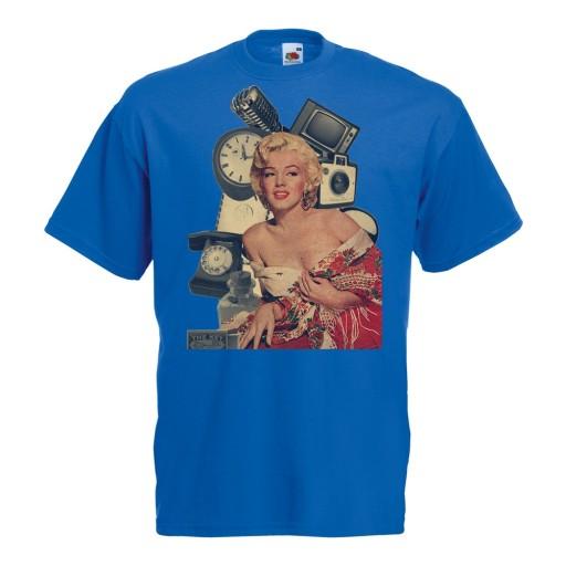 Koszulka z nadrukiem Audrey gwiazda prezent XL 10519100760 Odzież Męska T-shirty PK SRWSPK-5