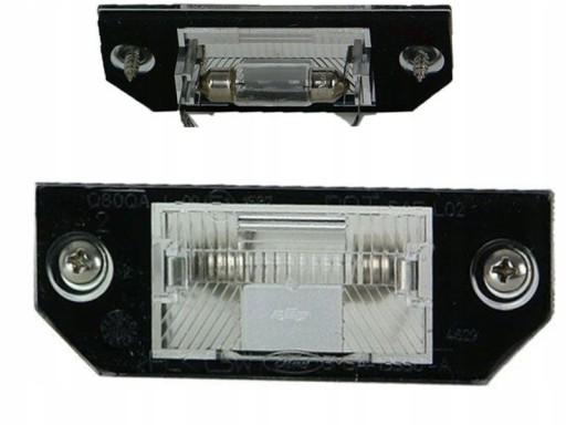 APSVIETIMAS NUMERIU ZIBINTAS (LEMPUTE) FORD FOCUS II C-MAX