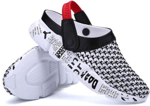 SANDAŁY MĘSKIE Adidasy SPORTOWE LETNIE RZEP 39-46 10738389105 Obuwie Męskie Męskie PX RJNNPX-5