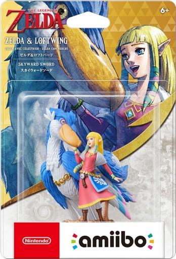 Figurka Amiibo Zelda - Zelda and Loftwing