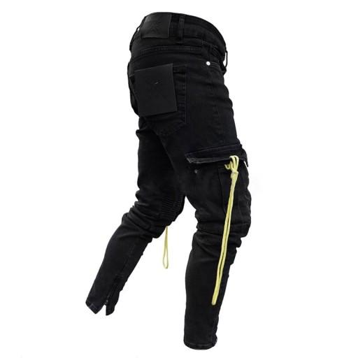 Dżinsy męskieMęskie spodnie na co dzień Harem Pant 10544527740 Odzież Męska Jeansy OZ WVJKOZ-9