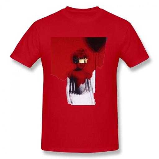 Rihanna Anti meski podkoszulek t-shirt 10679179986 Odzież Męska T-shirty HR GXKYHR-4