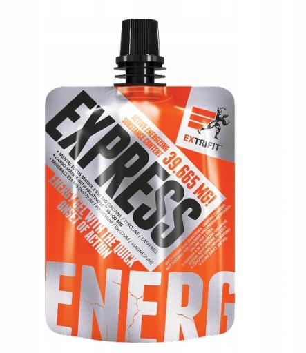 EXTRIFIT EXPRESS ENERGY GEL ŻEL ENERGETYCZNY 80G