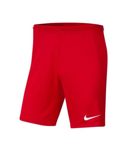 L Spodenki Nike Park III BV6855 657 czerwony L 10608208519 Odzież Męska Spodenki ZS IPDXZS-4