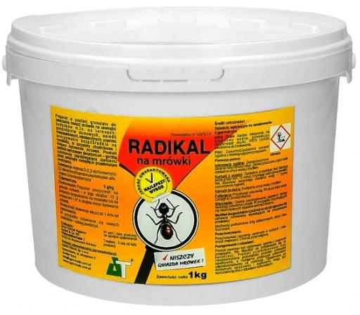 Preparat Na Mrowki Radikal 1kg Silny Granulat 6769017375 Allegro Pl