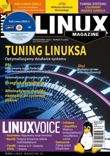e-wydanie LinuxMagazine 10(200)2020 Tuning Linuksa