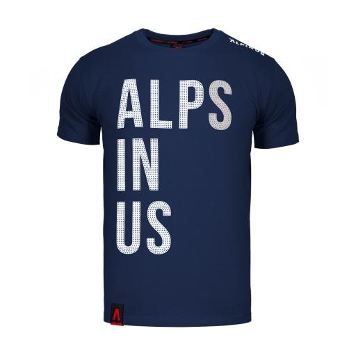 T-SHIRT KOSZULKA MĘSKA SPORTOWA OUTDOOR ALPINUS XL 9911316633 Odzież Męska T-shirty DM VLGYDM-2