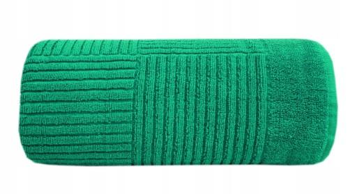 Ręcznik Enigma 70x140 zielony Frotex - Greno