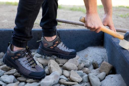SSAM Обувь Кроссовки Сшитые в горы Треккинг Рабочие доставка из Польши Allegro на русском