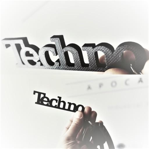 Techno Technics Brelok Breloki Breloczki Napisy 7395405462 Allegro Pl