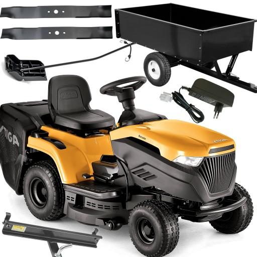 Mocny Traktorek Ogrodowy Kosiarka Al Ko 103cm 16km 8921587939 Oficjalne Archiwum Allegro
