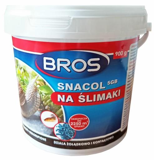 Bros Snacol Srodek Trutka Na Slimaki Granulki 900g 9475990005 Allegro Pl