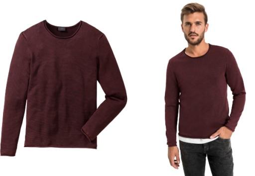 BONPRIX Sweter Slim-Fit r. 60/62 ( XXL ) RAINBOW 9789326432 Odzież Męska Swetry GC ATMWGC-4