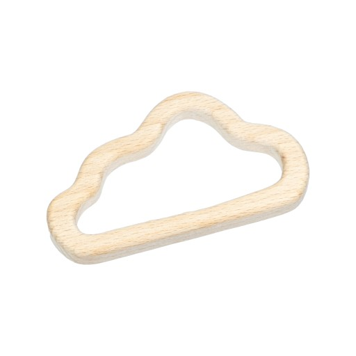 1szt gryzak drewniany chmura, chmurka