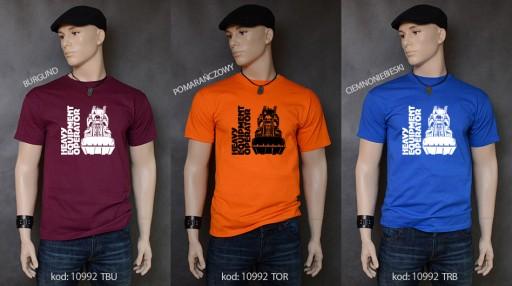 koszulka ŁADOWARKA prezent 8979143790 Odzież Męska T-shirty IZ FQUKIZ-8