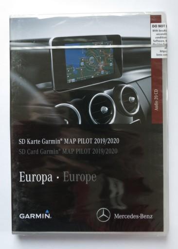 Garmin Map Pilot Najnowsze mapy Mercedes A218