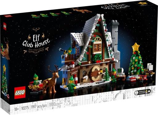LEGO 10275 CREATOR EXPERT DOMEK ELFÓW