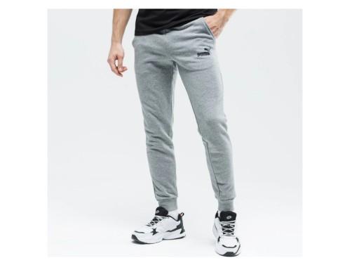 Spodnie Puma Essentials męskie szare M 10454331981 Odzież Męska Spodnie QI DHXZQI-6