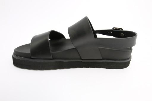 Czarne sandały 10434644233 Obuwie Męskie Męskie FW BEMOFW-1