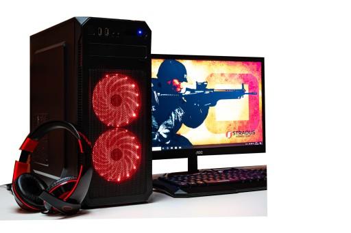 Zestaw Do Gier I5 8gb Gtx1050ti Monitor 24 Win10 Sklep I Komputery Stacjonarne Allegro Pl