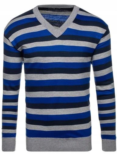 Wełniany sweter męski XL męskie swetry z wełny 10420854597 Odzież Męska Swetry CR HMBJCR-8