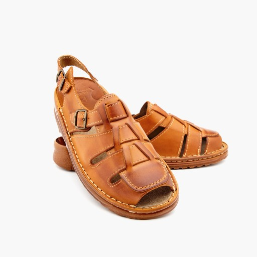 MAXIMUS 009 wygodne polskie skÓrzane sandały BR 41 9627050956 Obuwie Męskie Męskie JF DGTLJF-1