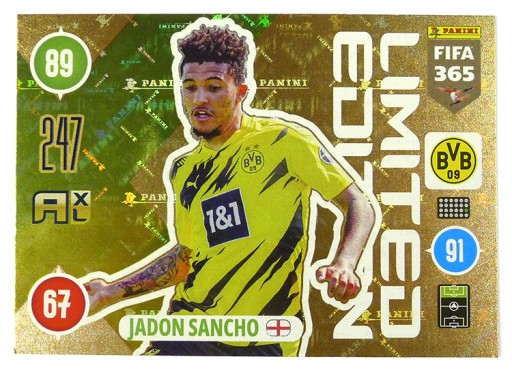 Karty Panini Fifa365 2021 Limited Edition Sancho 9793728660 Allegro Pl