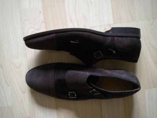 MASSIMO DUTTI eleganckie buty mokasyny r.43 brąz 10800200380 Obuwie Męskie Męskie TF YZYITF-6