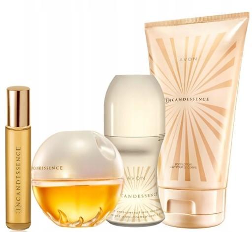 Perfumy Avon Elegancki Zestaw Incandessence 5w1 6854687725 Allegro Pl