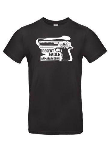 Koszulka Desert Eagle Armata w dłoni!, roz. XL 10420673746 Odzież Męska T-shirty FB YFZZFB-6