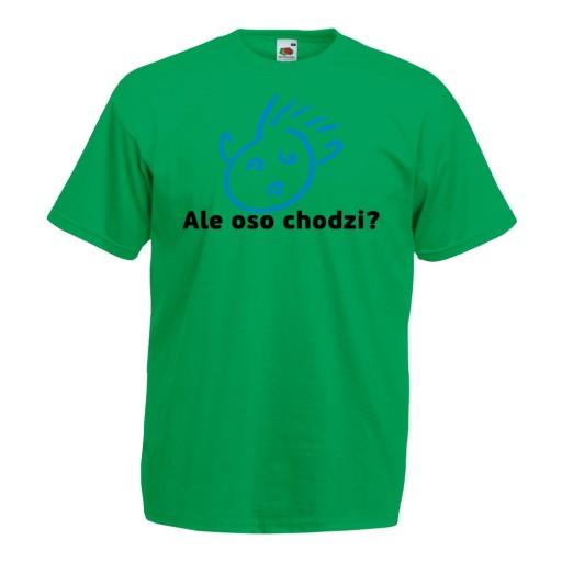 Koszulka z nadrukiem zabawna ale oso chodzi XXL 10516766921 Odzież Męska T-shirty MZ REVUMZ-5