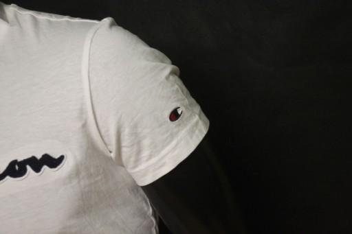 CHAMPION #NOWA# KOSZULKA MESKA T-SHIRT LOGOWANA 10768046123 Odzież Męska T-shirty LC PFUCLC-8