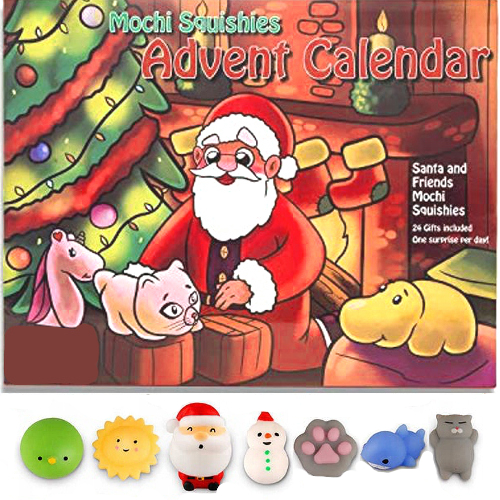 Kalendarz Adwentowy Dla Dzieci Gniotek Squishy 9775961107 Allegro Pl
