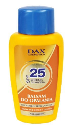 Dax Cosmetics Balsam Do Opalania Spf 25 Ochronny 9219146545 Allegro Pl
