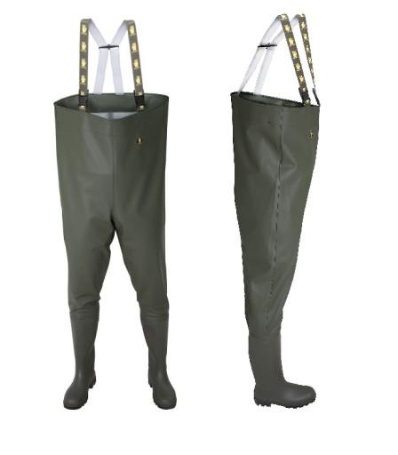 Wedkarskie Wodery Spodniobuty Pros Zielone Polskie 6874594847 Allegro Pl