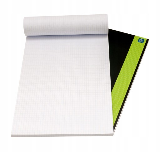BLOK BIUROWY NOTES A4 W KRATKĘ 100 kartek
