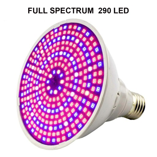 Lampa E27 GROW 290 LED do wzrostu roślin Growbox