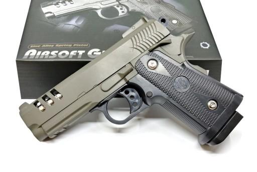 Pistolet Na Kulki Metalowy V35 Colt 6mm Dark Oliv 9399495175 Allegro Pl