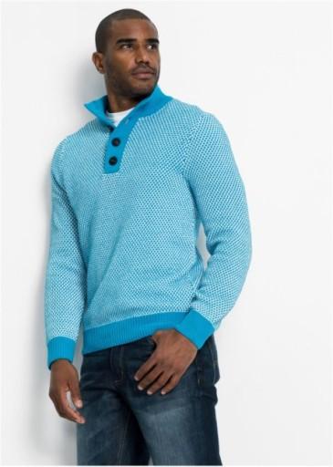 OKAZJA! BONPRIX sweter męski bpc r 48/50 (M) 10563061424 Odzież Męska Swetry GL TPCZGL-5