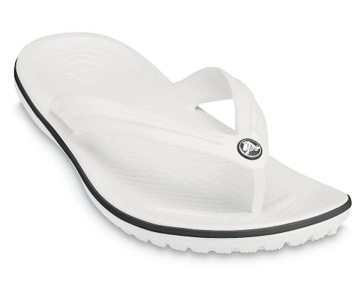 japonki Crocs Crocband Flip - White