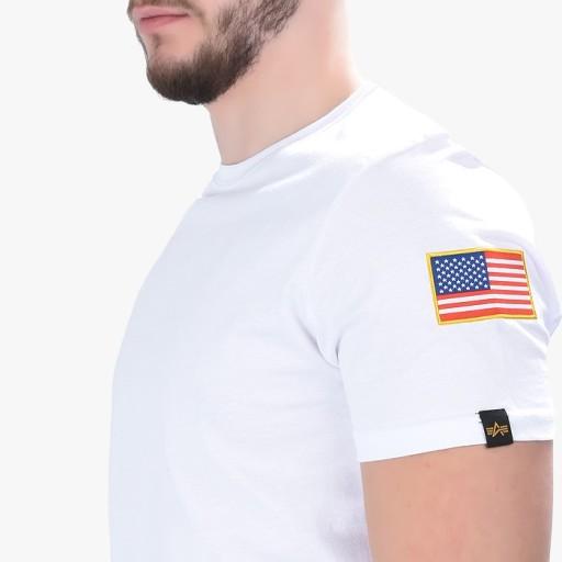 Koszulka Alpha Industries NASA 176506 09 L 10034049397 Odzież Męska T-shirty DU OJMGDU-2