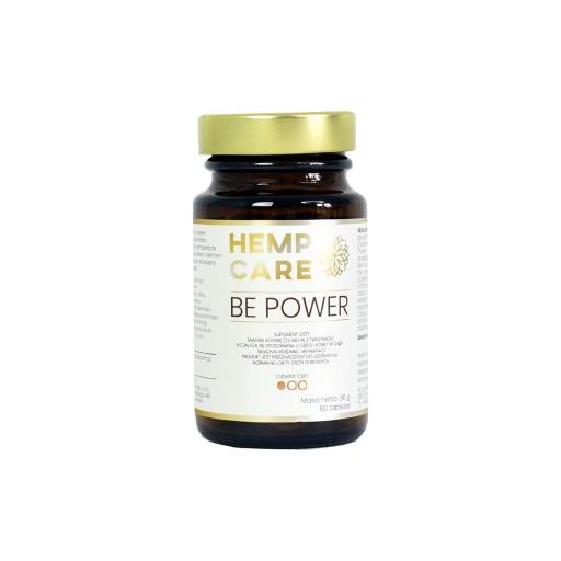 Tabletki CBD Be Power 60 tabletek Hemp Care