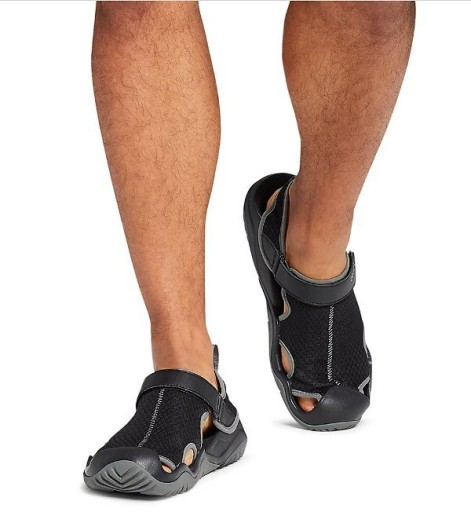 Sandały Brązowe Crocs Swiftwater Mesh 205289-206 10797727446 Obuwie Męskie Męskie UL WYJMUL-1