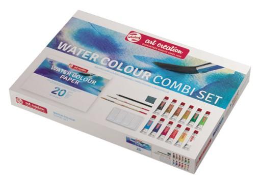Zestaw Farb Akwarelowych Combi SET 12x12ml Talens