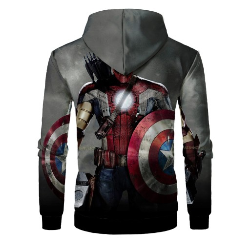 ool Męska bluza z nadrukiem cyfrowym Sweter męski 9813456990 Odzież Męska Swetry UL TKQZUL-5