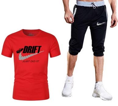 Super Męski Komplet Spodenki Drift + Koszulka 3XL 10716490380 Odzież Męska Komplety WB DLPMWB-8