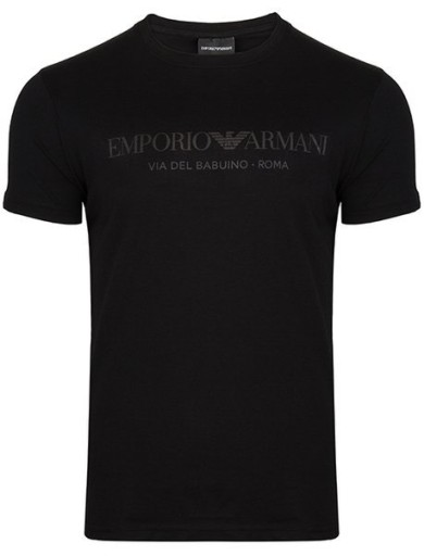 EMPORIO ARMANI czarn tshirt koszulka EA7 T87 r.XL 8995178570 Odzież Męska T-shirty FL SAWDFL-5
