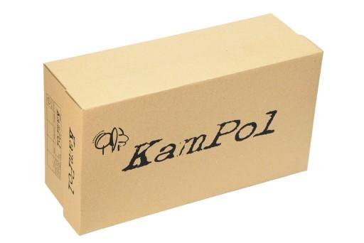 Klapki letnie męskie skóra polskie KamPol r.44 9170799738