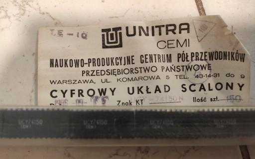 100x Cyfrowy Układ Scalony ucy-74150n Unitra