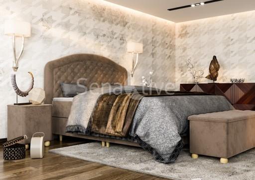 Exclusive Królewskie Łoże Royal Lux 160x210 Sklep